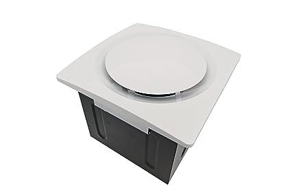Aero Pure SBF 110 G6 W 110 CFM Super Quiet Bathroom Ventilation Fan, Energy