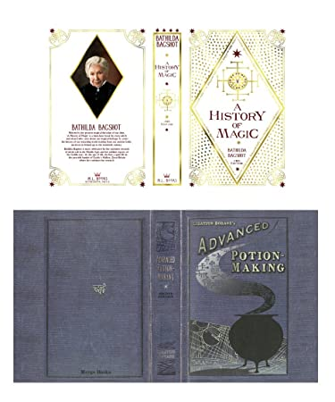 Harry Potter Book Covers, History of Magic, Advanced Potion Making