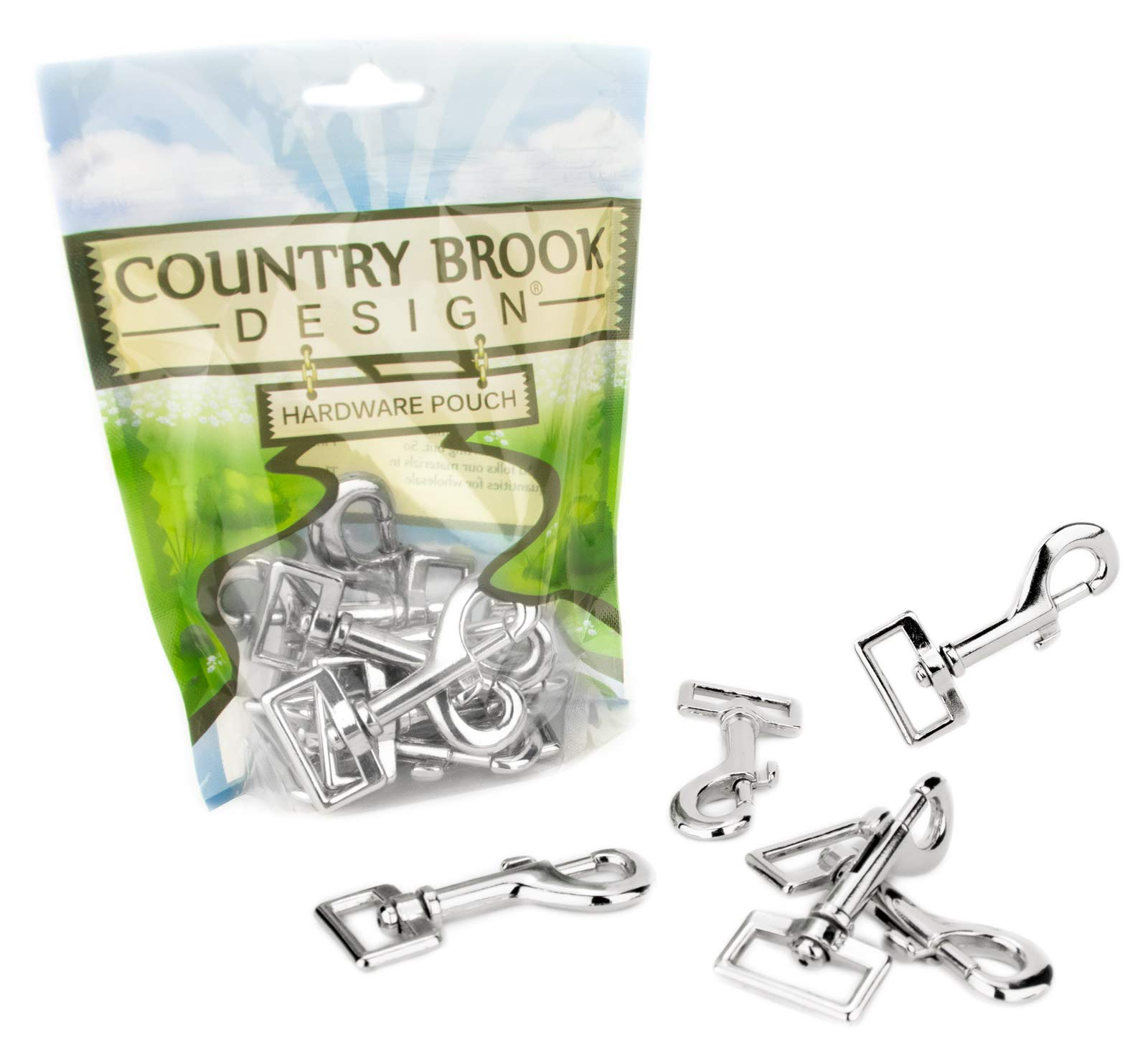 50 - Country Brook Design | 1 Inch Lightweight Swivel Snap Hooks by Country Brook Design