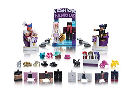Amazoncom Roblox Celebrity Collection Fashion Famous Large Playset