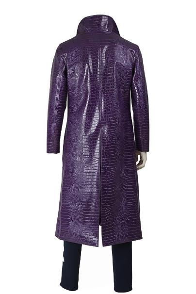 Amazon.com: Joker escuadrón suicida púrpura patrón de ...