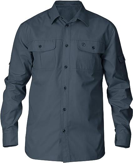 Fjällräven Singi Shirt SS 82446 uncle blue Kurzarmhemd Outdoorhemd  Wanderhemd