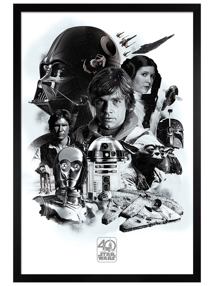 61X91.5cm Empire Strikes Back Star Wars Movie Art Poster Print 24X36