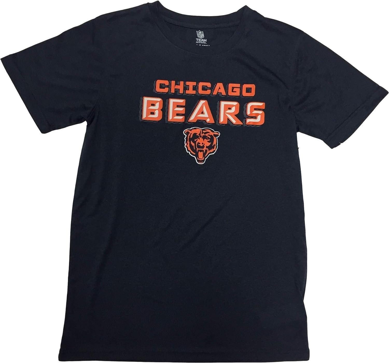 Chicago Bears Boys Youth Dri Fit Crew Neck T-Shirt