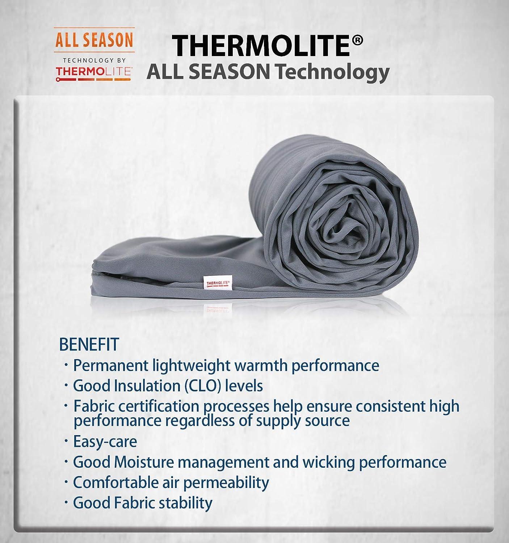 Litume Thermolite All Season Sleeping Bag Liner Add Up to 22F, Mummy Sleeping Sack Backpacking, Camping, Traveling, Lightweight Sleep Sack with Drawstring Hood (E626) : Sports & Outdoors