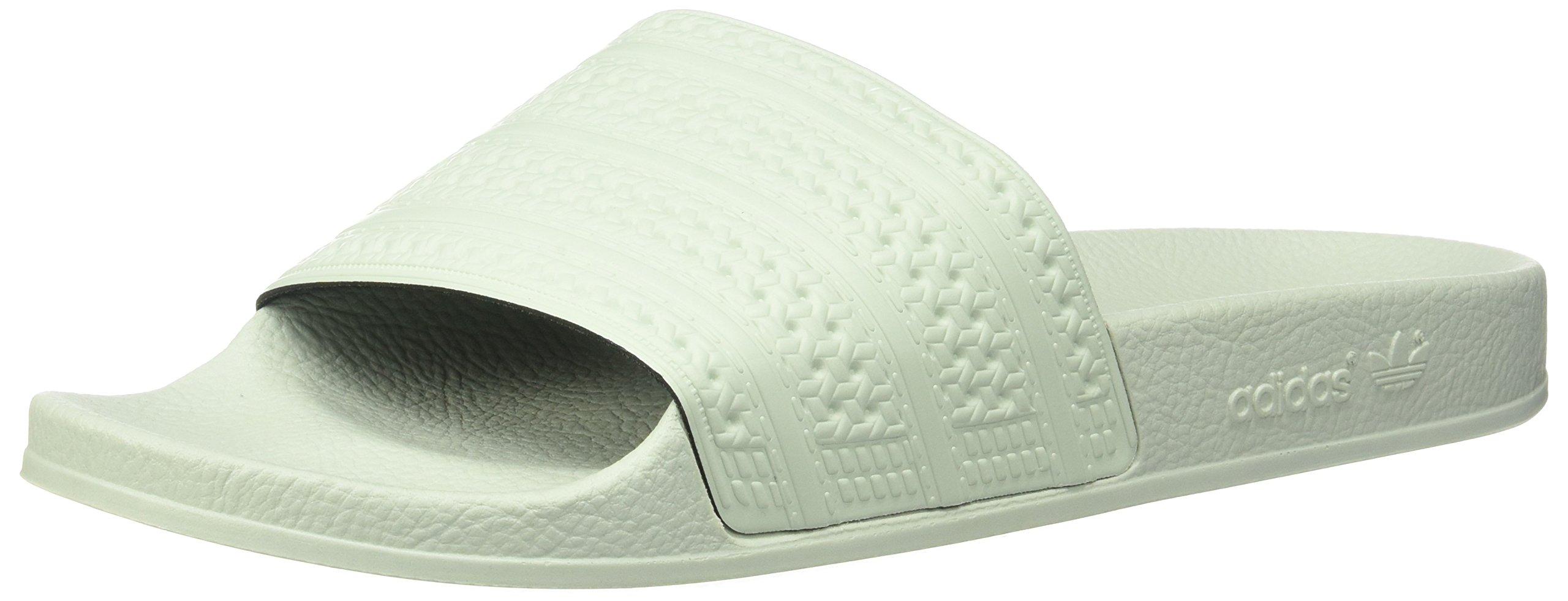 Adidas Men's Adilette,Linen Green,12 M US