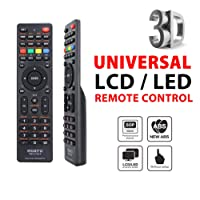 Tersely Universal LCD/LED/3D TV Remote, for LCD/LED TV HDTV Controller Samsung/Panasonic/TCL/SANYO, Panasonic, Philips, Prima, Toshiba, Thomson, TCL, etc