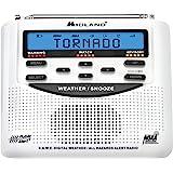 Midland - WR120B/WR120EZ - NOAA Emergency Weather Alert Radio - S.A.M.E. Localized Programming, Trilingual Display, 60…