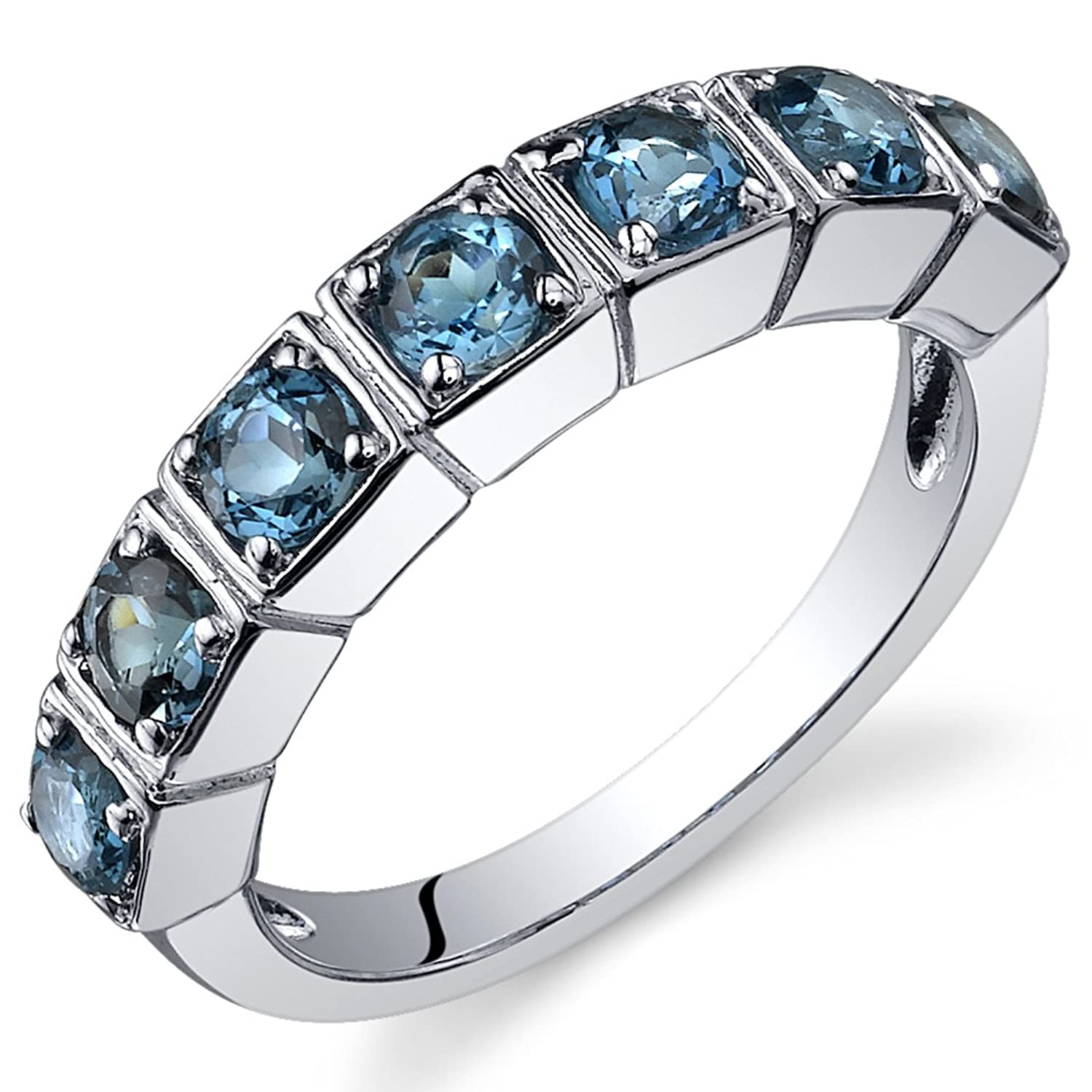 dp blue jewelrypalace created amazon ring kate sterling princess sapphire silver com rings middleton diana engagement stone