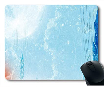 Amazon Com Echonie Mouse Pad With Winter Wallpaper