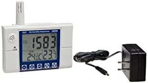 Supco IAQ50 CO2 Carbon Dioxide Meter Indoor Air Quality Monitor Temperature and Humidity With Dew Point, Wet Bulb - Desktop or Wall Mounting