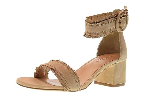 Zapatos 35 Cris Natural Talla Sandalias Vergre' Mujer H6006x 1wxqxA8v7