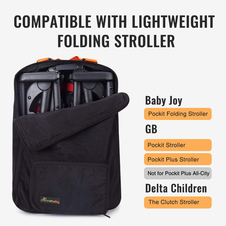 gb pockit and pockit plus travel bag black