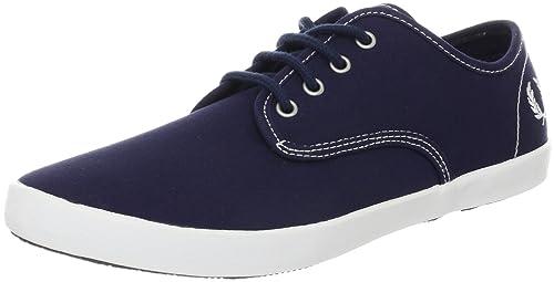 FRED PERRY Fred perry foxx canvas zapatillas moda hombre: FRED PERRY: Amazon.es: Zapatos y complementos