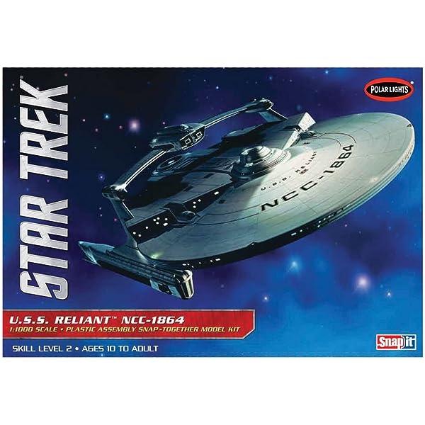 820 1/1000 Star Trek USS Enterprise NCC-1701-A Refit: Amazon