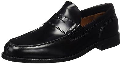 Lottusse L6902, Mocassins (Loafers) Homme, Noir (Jocker Pelar Negro), 42.5 EU