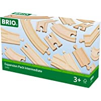 Brio Expansion Pack Intermediate Wooden Track Train Set - Made with European Beech Wood