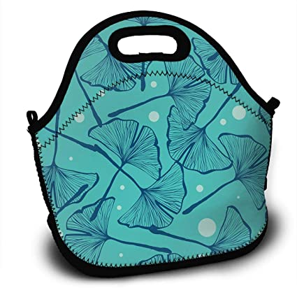 ab559b719cd0 Amazon.com: Blue Gingko Biloba Custom Personalized Insulated ...