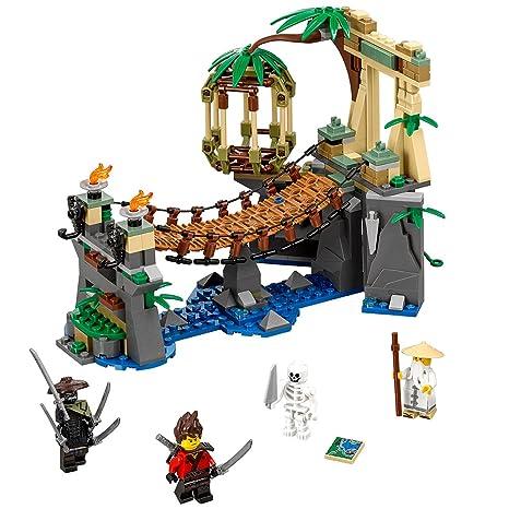 Amazon.com: LEGO Ninjago Movie Master Falls 70608 Building Kit (312 ...