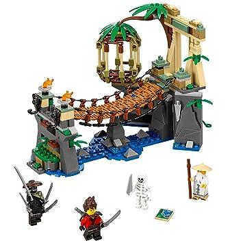 Amazon.com: LEGO Ninjago Movie Master Falls 70608 Building Kit ...