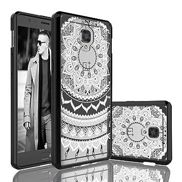 Eutekcoo - Carcasa para OnePlus 3T, diseño de Flores, Compatible con OnePlus 3/OnePlus 3T 5.5inch, Color Transparente