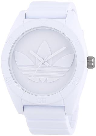 Silicone Adh2711 Bracelet Adidas Montre Quartz Analogique Blanc Homme srtQdohCxB