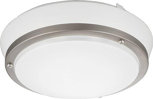 Lithonia Lighting FMCSTL 14 20840 KR M4 Castleberry LED 4000K Flush Mount Round Ceiling Light