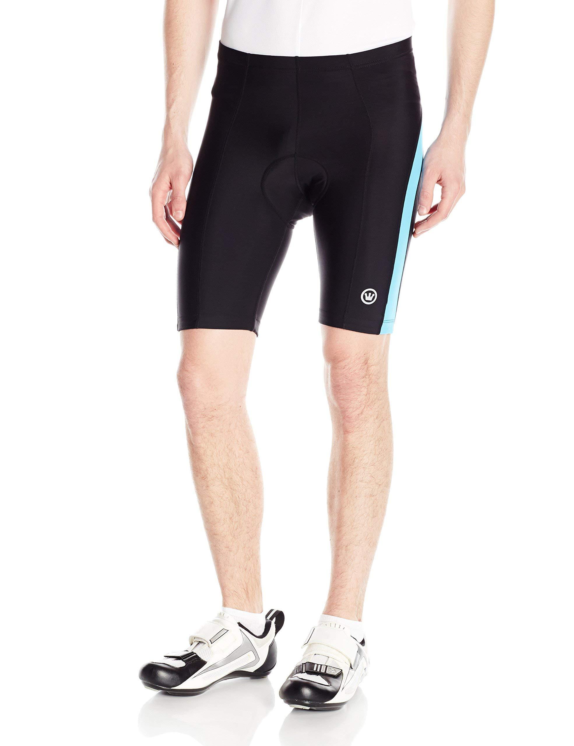 CANARI Men's Blade Gel Shorts, Neon Electric Blue, Large