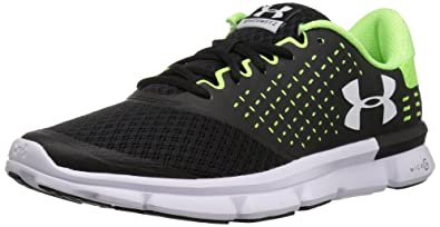 Under Armour Men's Micro G Speed Swift 2, Black (004)/Quirky Lime