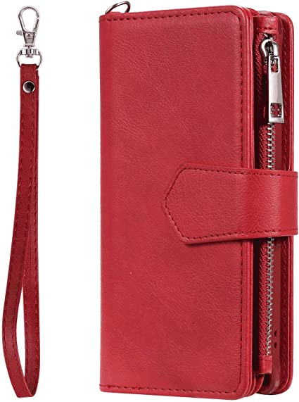 with Extra Waterproof Case Pouch Leather Case Compatible with iPhone XR Wallet Cover for iPhone XR Business Gifts