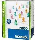 Moldex SparkPlugs® Bouchons d'oreille en mousse ultra léger extra doux - SNR 35db 100 paires