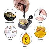 Vetoo 22 Pcs Mini Pin Vise Hand Drill Bits, Hobby