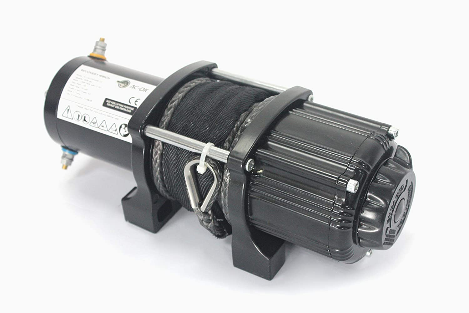 4500lb Winch with Cable AC-DK 12V 4500lb ATV Winch UTV Winch Electric Winch Set for 4x4 Off Road