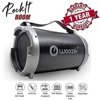 Amazon.com: Nueva woozik s12b altavoz bluetooth altavoz ...