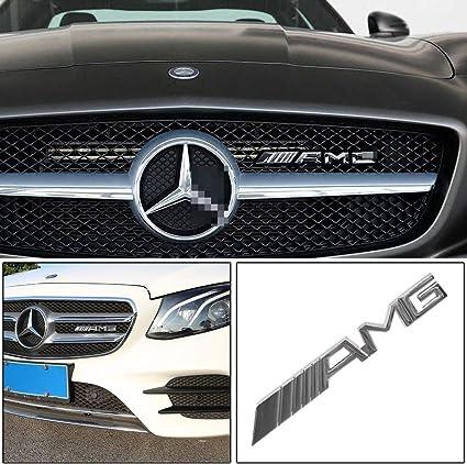Autocollant 3D AMG pour coffre de voiture avec logo M-B