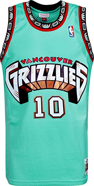 d3acf44a Mitchell & Ness Mike Bibby #10 Vancouver Grizzlies 1998-99 Swingman ...