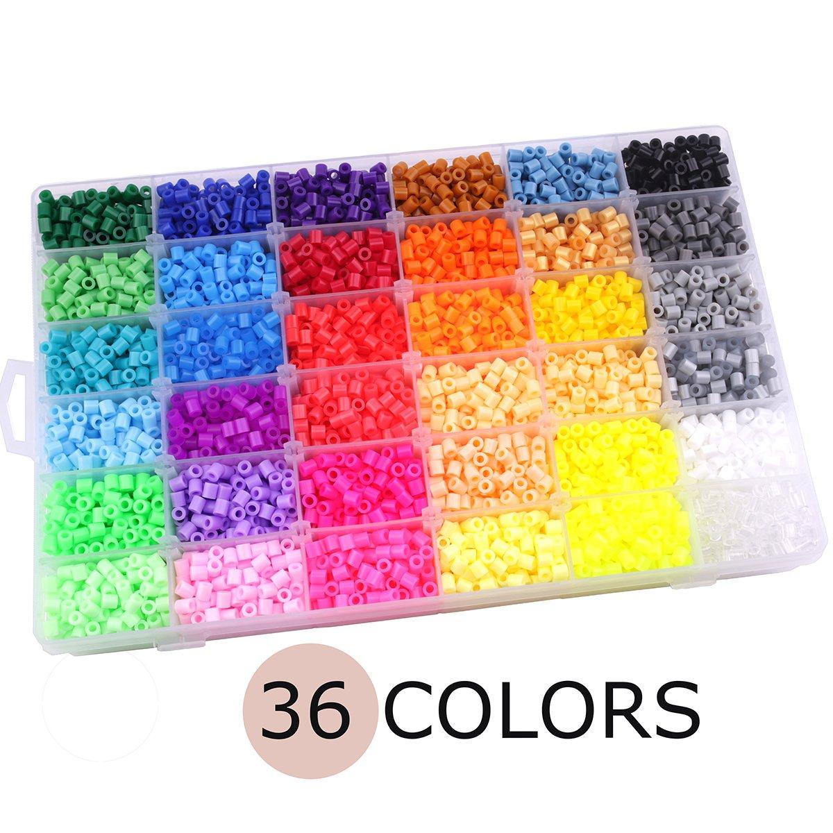 Best for baby Juguetes de Plástico Cuentas DIY 15 Colores ...