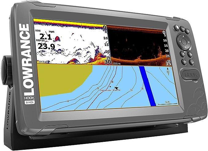 Lowrance 000-14182-001 Hook2 Splitshot HDI - Buscador de Pescado y ...