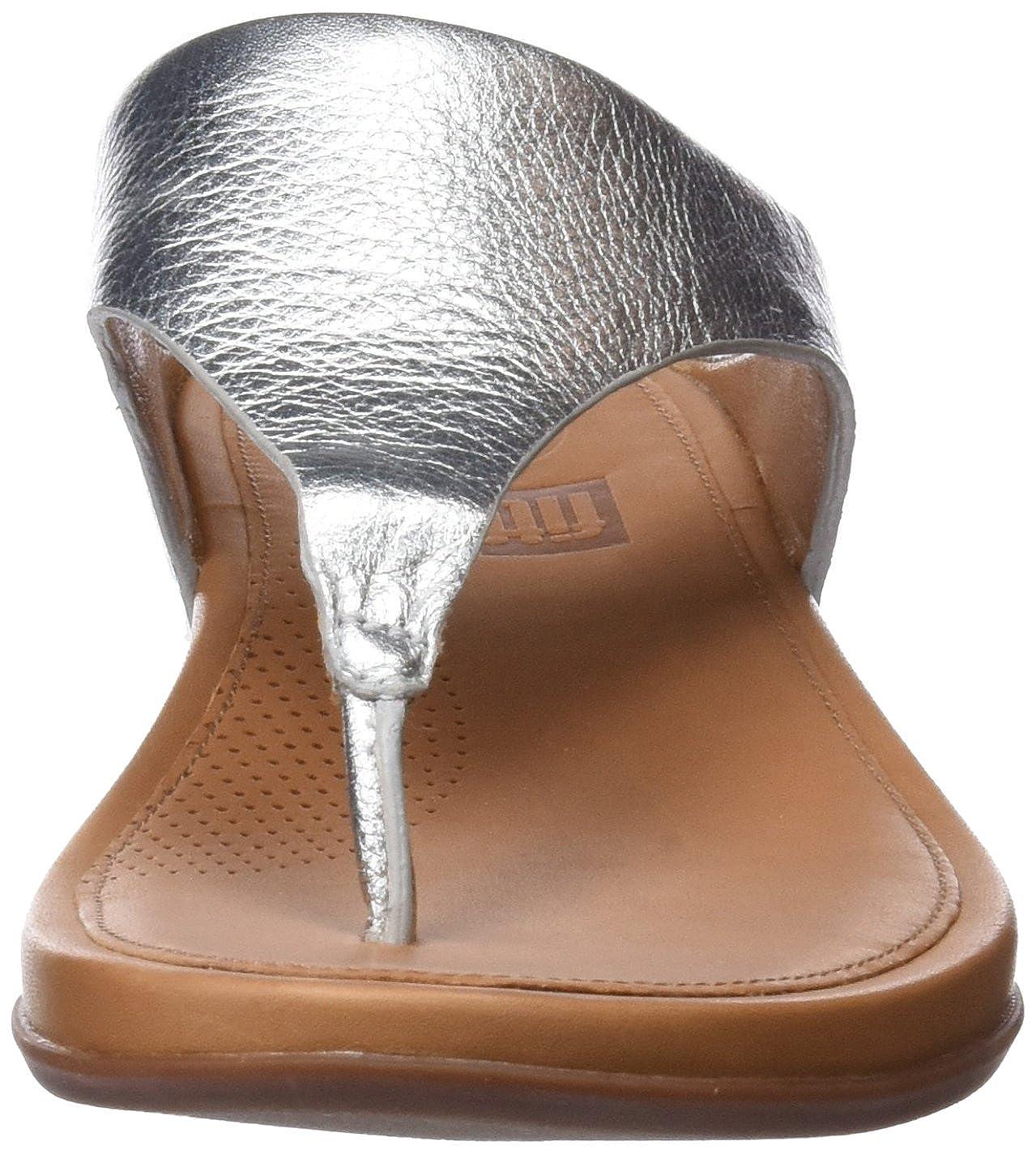 FitFlop Damen Banda 011) PlateauSandale, Silber Silber (Silver 011) Banda 5e9672