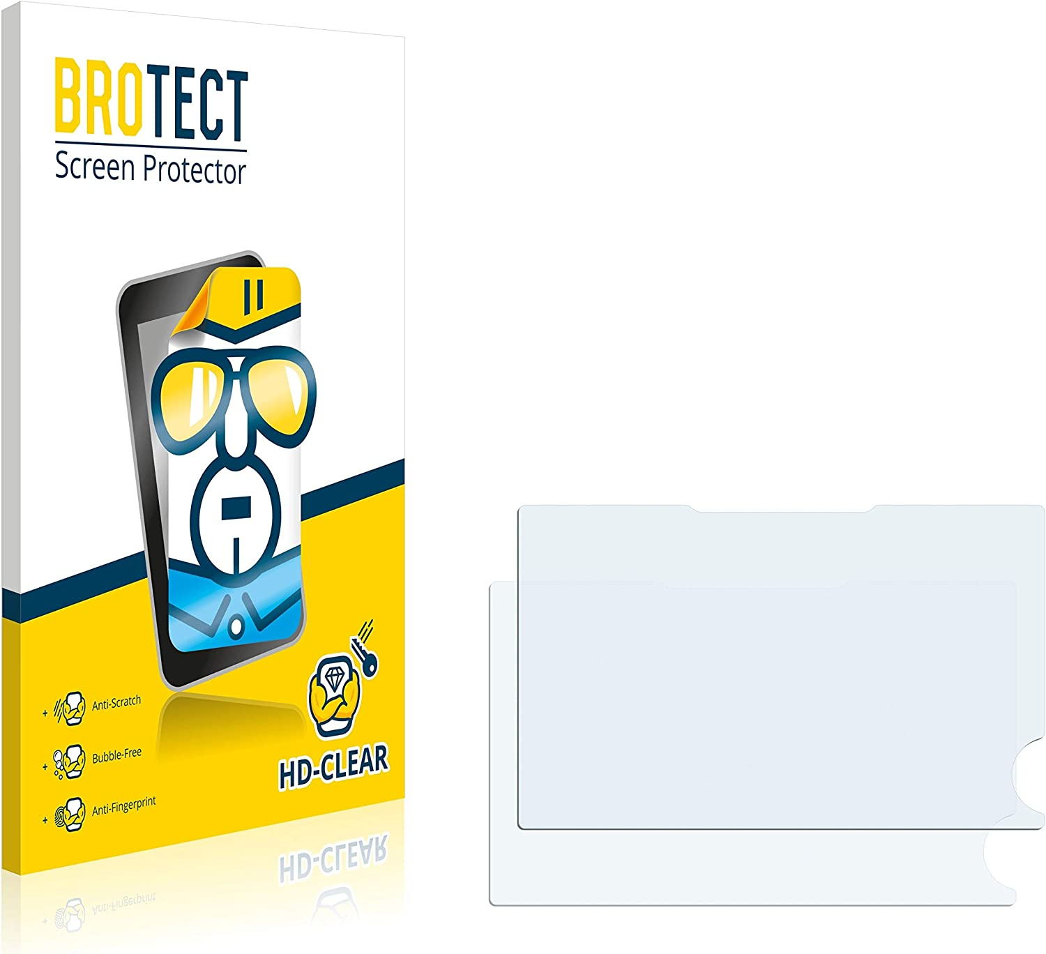 brotect 2-Pack Screen Protector compatible with Sigma dp2 Quattro HD-Clear Protection Film