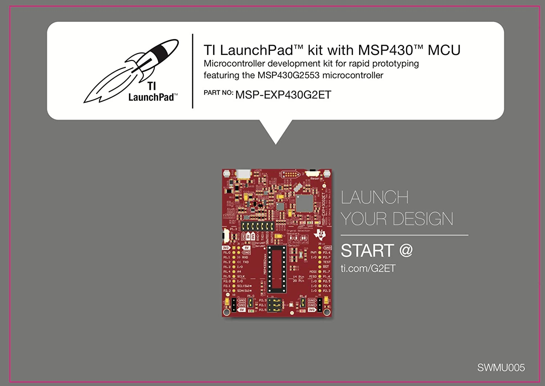 N Texas Instruments 14-//20-pin DIP Texas Instruments Value Line MSP430 LaunchPad MSP-EXP430G2ET Socket TI