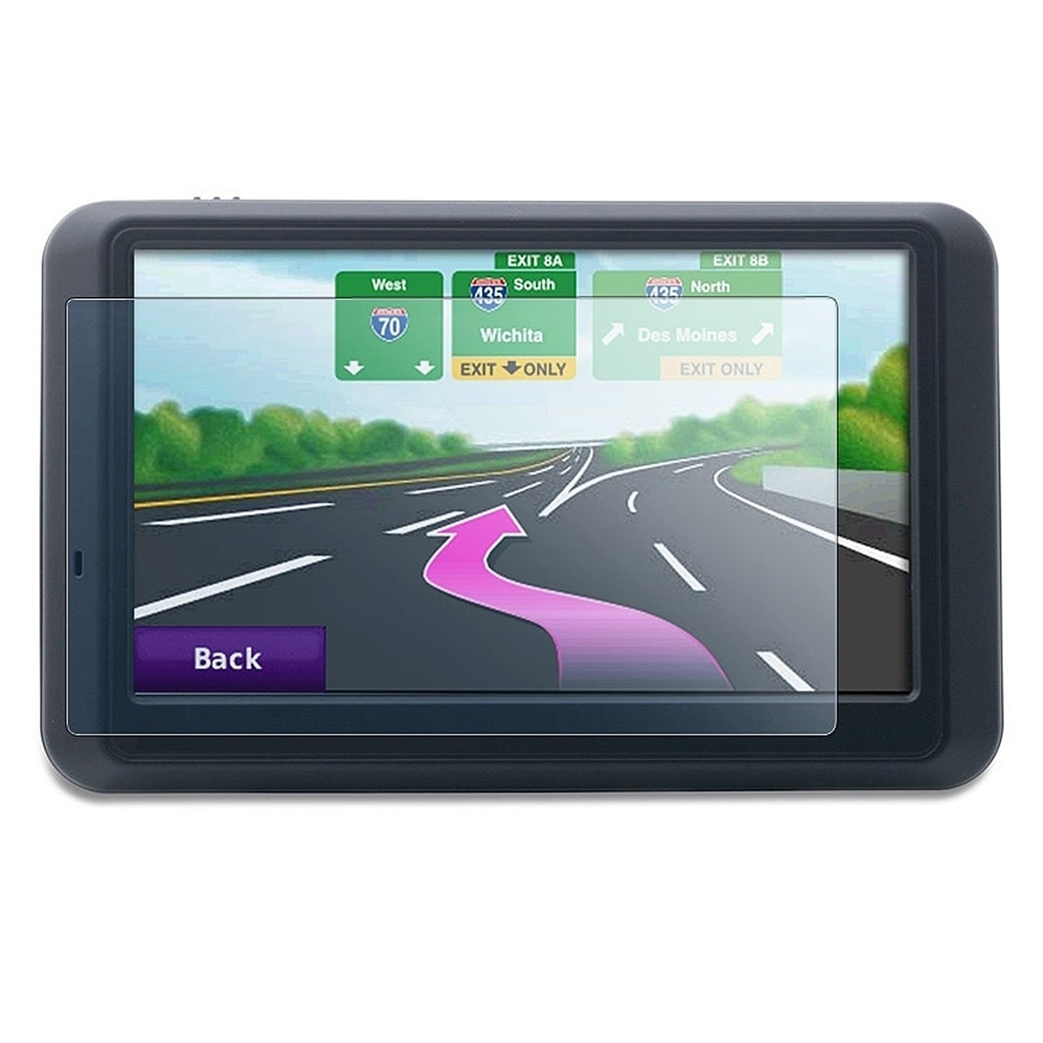 Universal 4.3-Inch GPS Screen screen protector for Magellan Roadmate and Magellan Maestro Series
