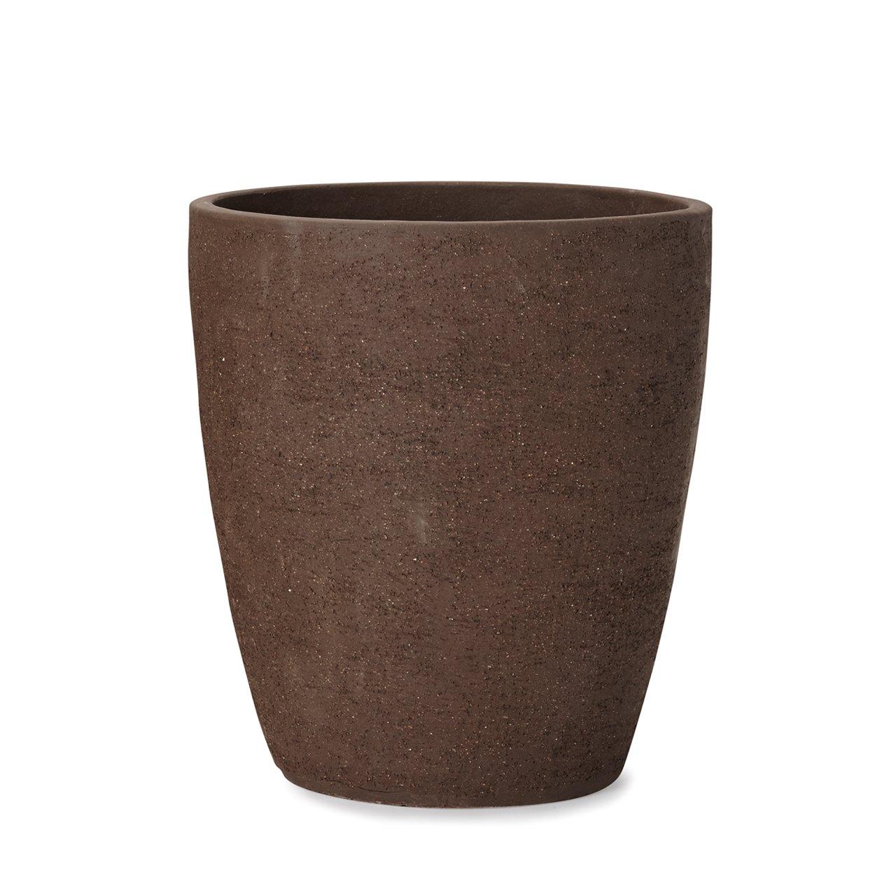 植木鉢 小型中型大型 トリニダード 972 L 12号 黒土 B07BQNZBYQ  黒土 L 12号