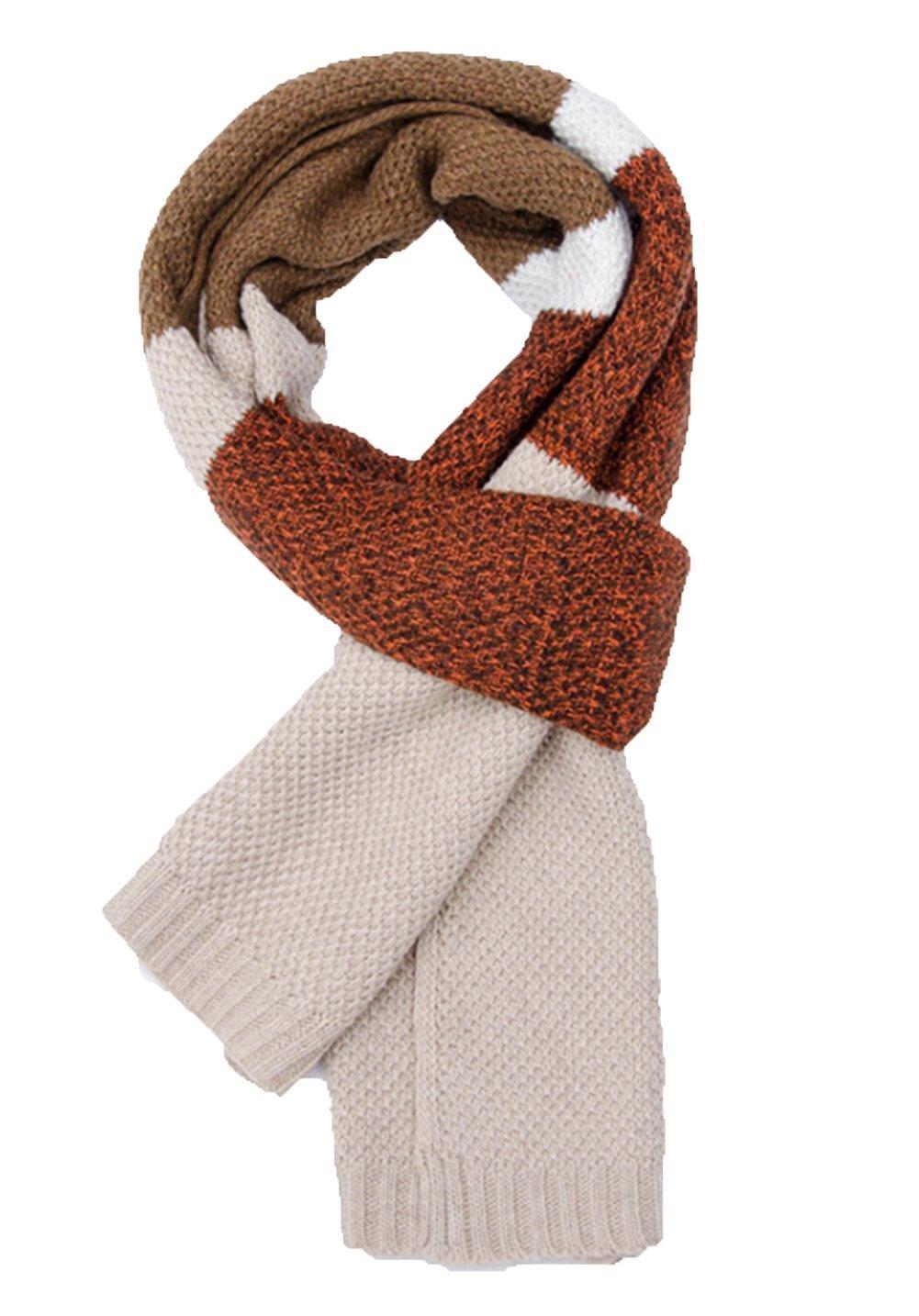Zedtom Longue /écharpe unisexe tissu chaud pour l/'hiver 190 x 30/cm color/ée