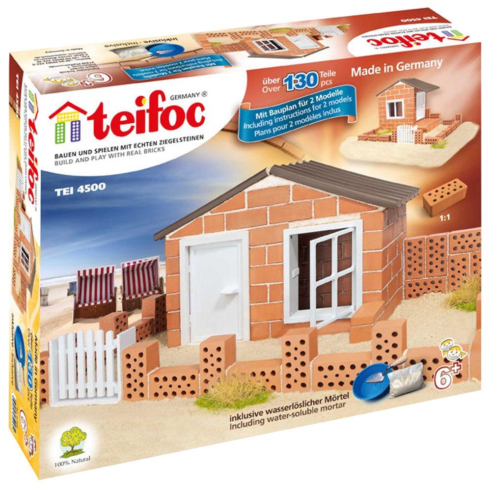 Amazing Teifoc Jeu De En Briques Maison De Plage With Jeux De Maison A  Construire