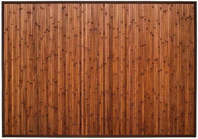 Tapis Bambou Latte 120x170 Chocolat Amazon Fr Cuisine Maison
