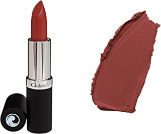 product image for Gabriel Cosmetics Lipsticks,0.13 Ounce, Natural, Paraben Free, Vegan, Gluten-free,Cruelty-free, Non GMO, High performance and long lasting, Infused with Jojoba Seed Oil and Aloe. (Walnut)
