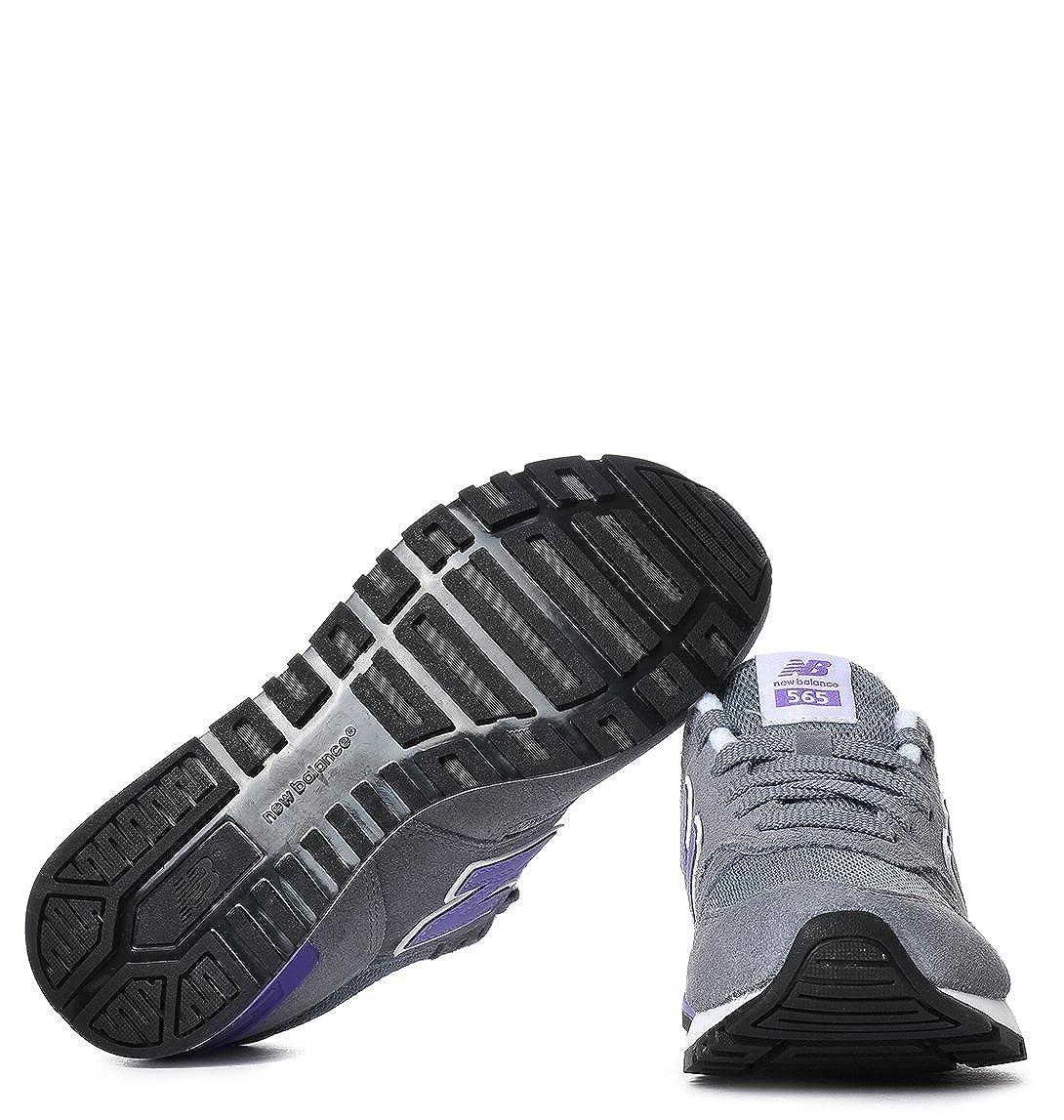 New Balance Femme NBWL565GLWB12 Gris Tissu Baskets: Amazon