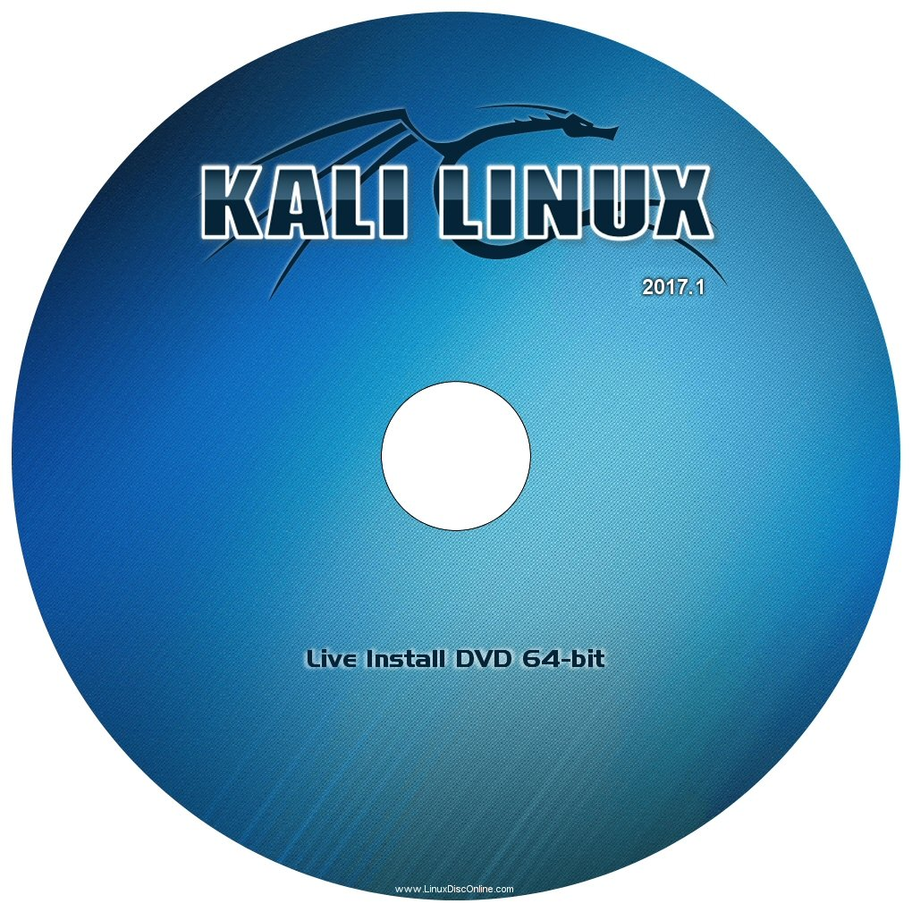 "Kali Linux ""Version 2016.2"" (64-bit) ""NEW RELEASE"" on DVD"
