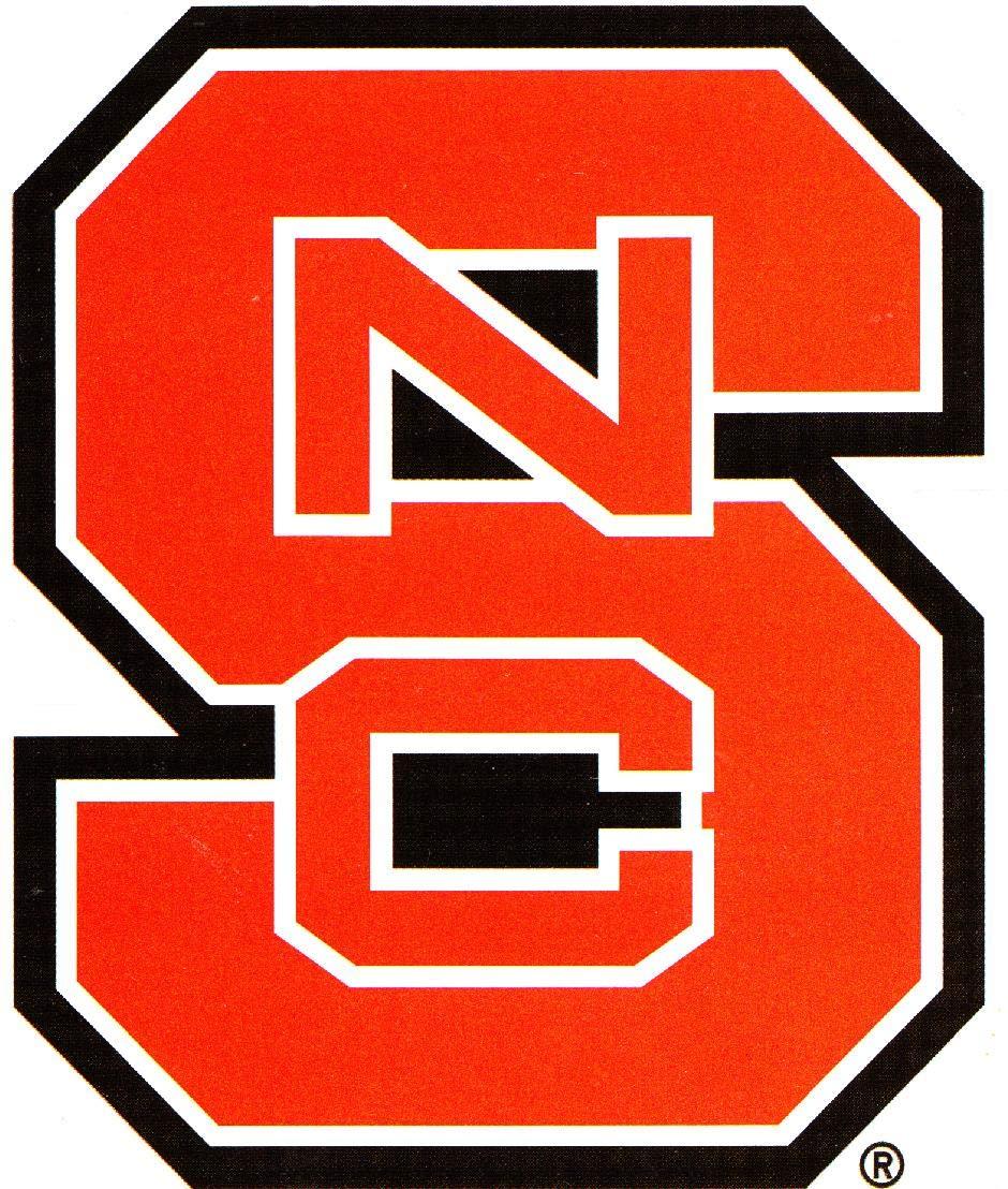 NCAA Legacy North Carolina State Wolfpack Large Rectangle Tin Sign 12x16 One Size Custom